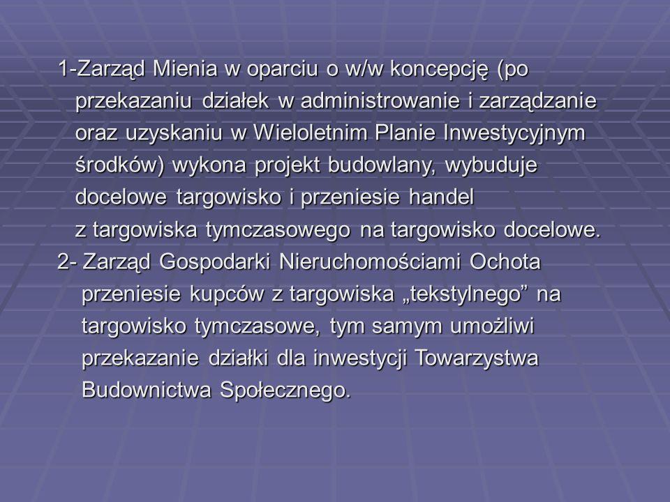 1-Zarząd Mienia w oparciu o w/w koncepcję (po