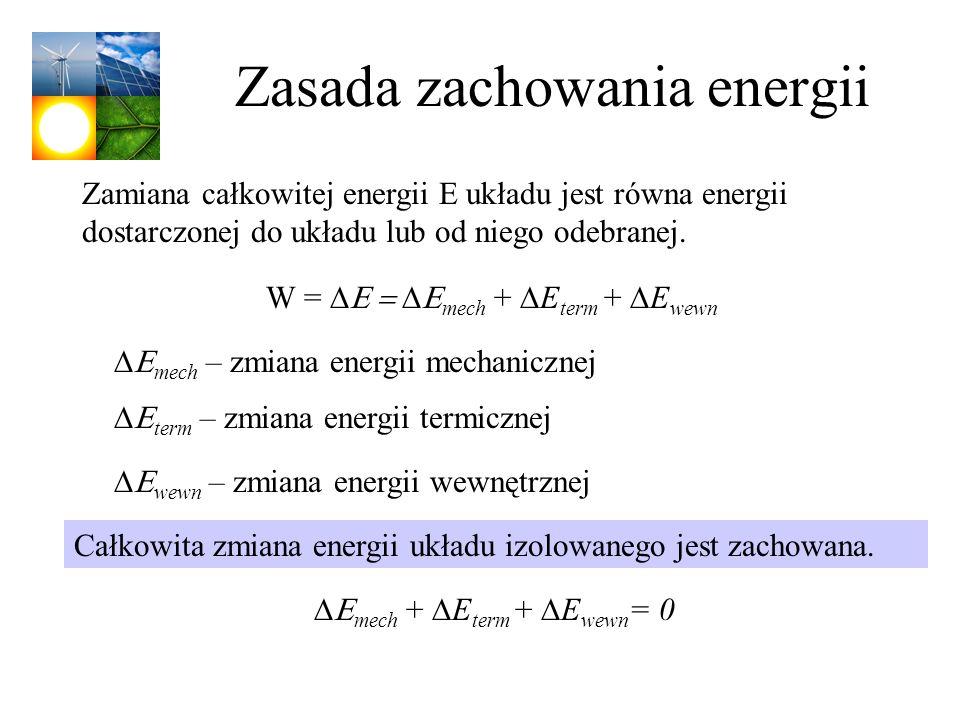Zasada zachowania energii