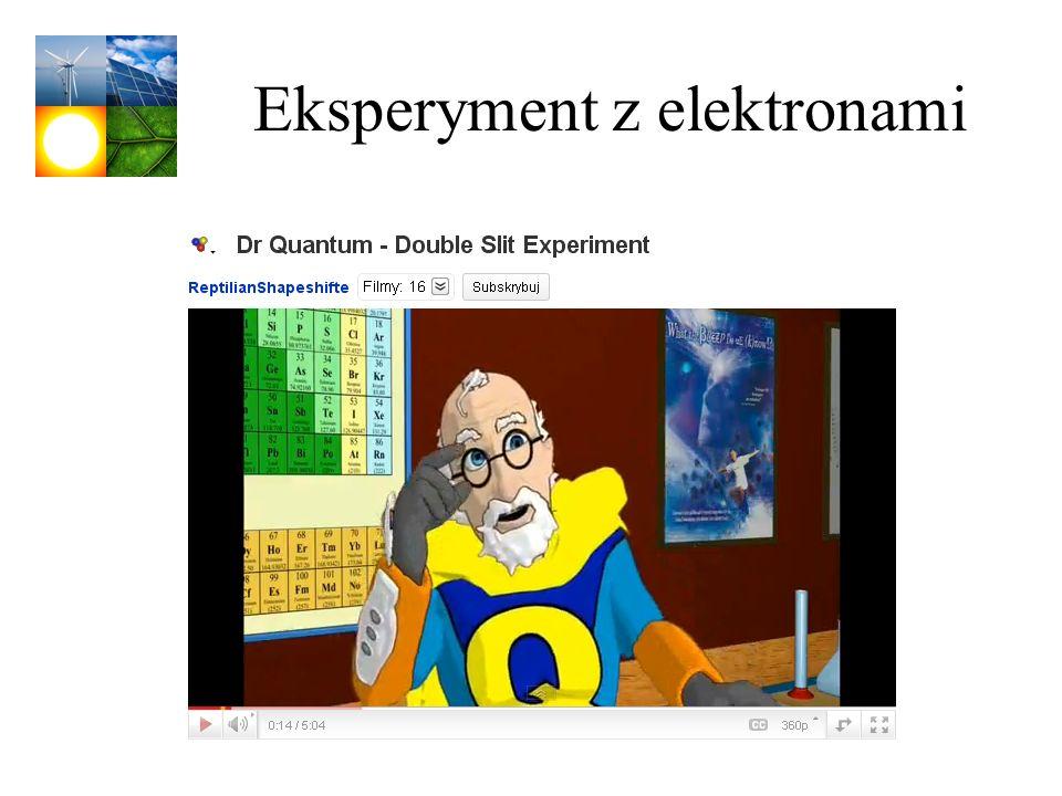 Eksperyment z elektronami