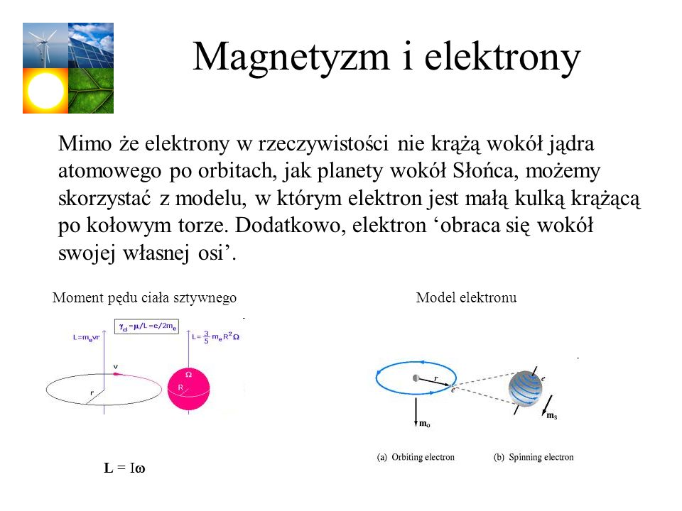 Magnetyzm i elektrony