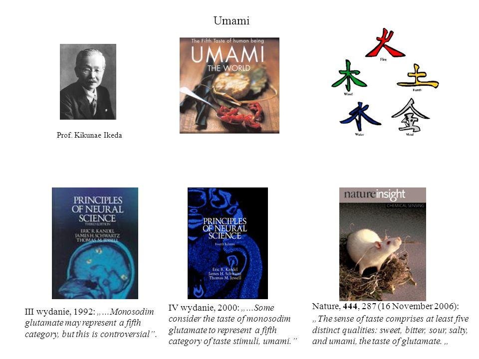 Umami Prof. Kikunae Ikeda.