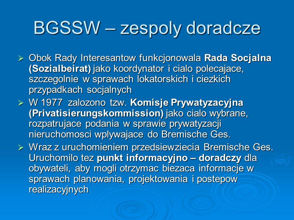 BGSSW – zespoly doradcze