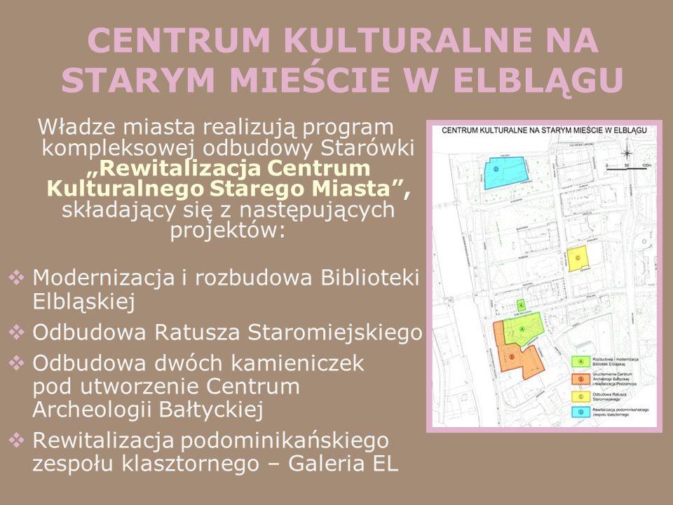 CENTRUM KULTURALNE NA STARYM MIEŚCIE W ELBLĄGU