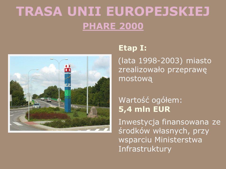 TRASA UNII EUROPEJSKIEJ PHARE 2000