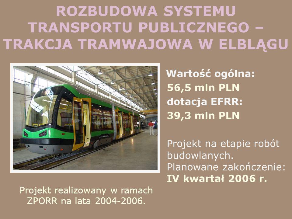 Projekt realizowany w ramach ZPORR na lata 2004-2006.