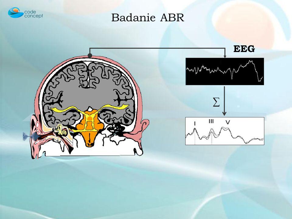 Badanie ABR ∑ EEG