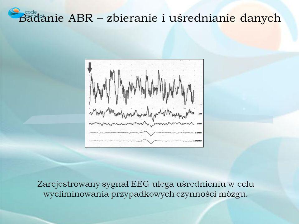 Badanie ABR – zbieranie i uśrednianie danych