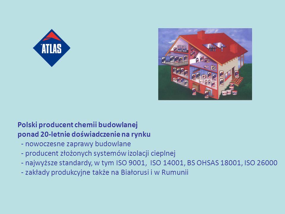 Polski producent chemii budowlanej