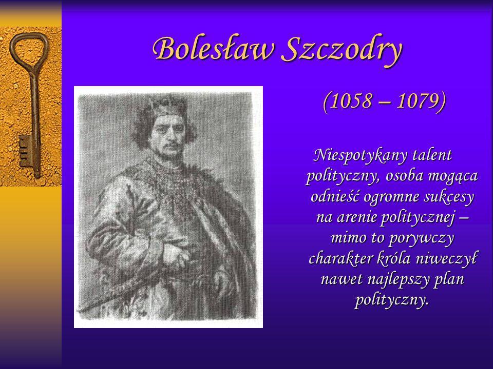 Bolesław Szczodry (1058 – 1079)