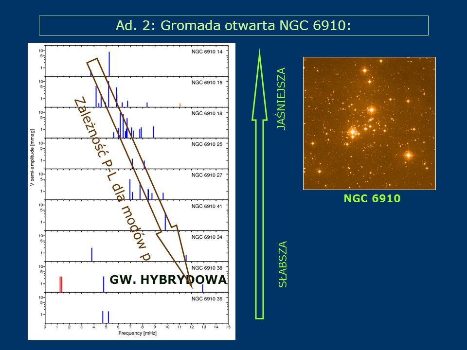 Ad. 2: Gromada otwarta NGC 6910: