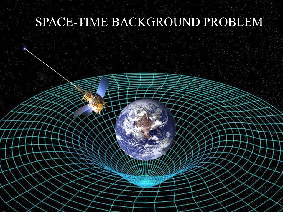 SPACE-TIME BACKGROUND PROBLEM