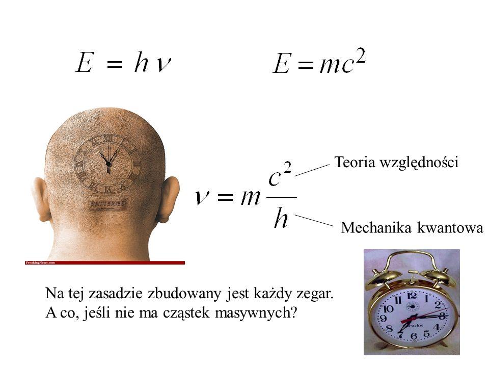 Na tej zasadzie zbudowany jest każdy zegar.
