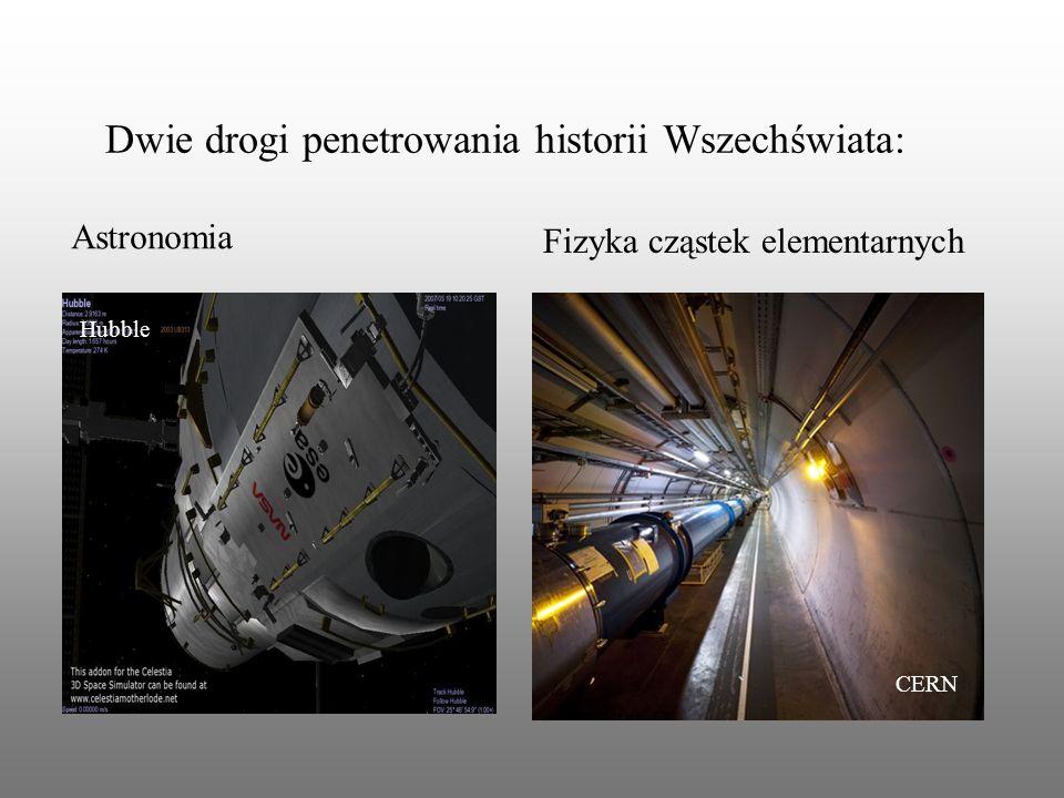 Dwie drogi penetrowania historii Wszechświata: