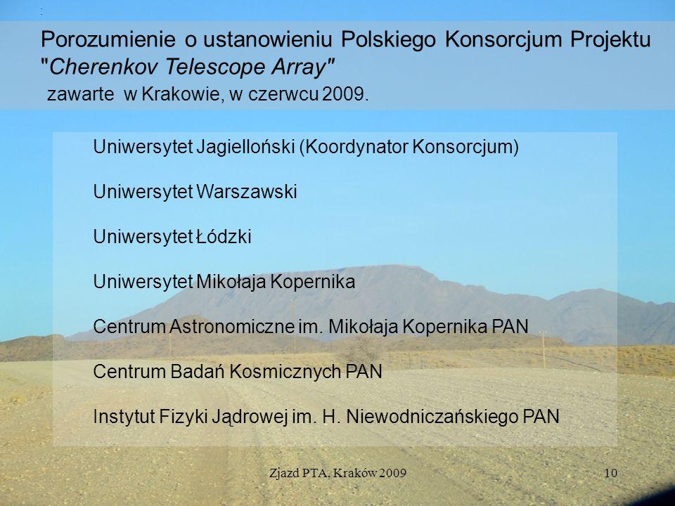 Porozumienie o ustanowieniu Polskiego Konsorcjum Projektu