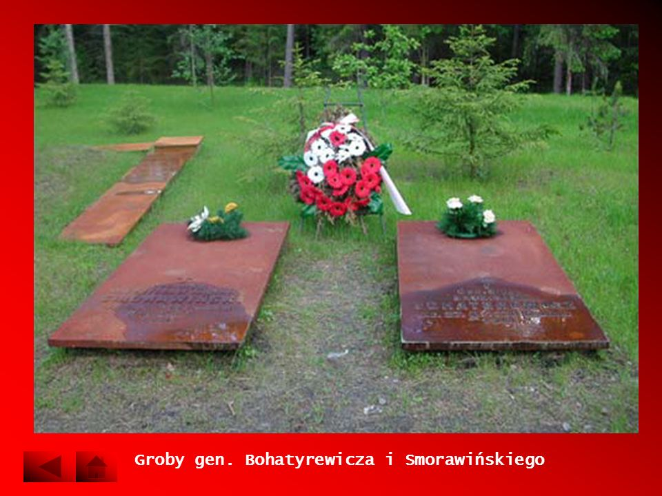 Groby gen. Bohatyrewicza i Smorawińskiego