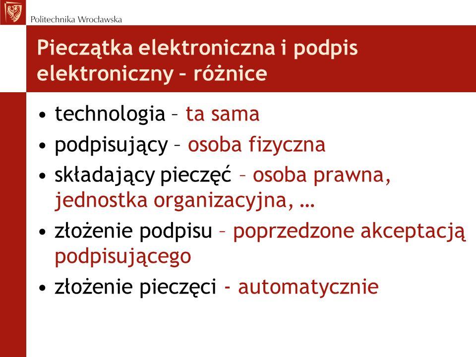 Pieczątka elektroniczna i podpis elektroniczny – różnice