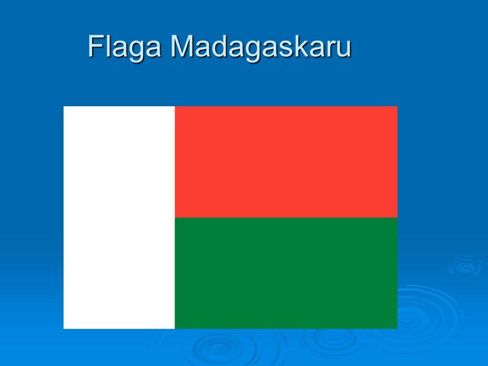 Flaga Madagaskaru