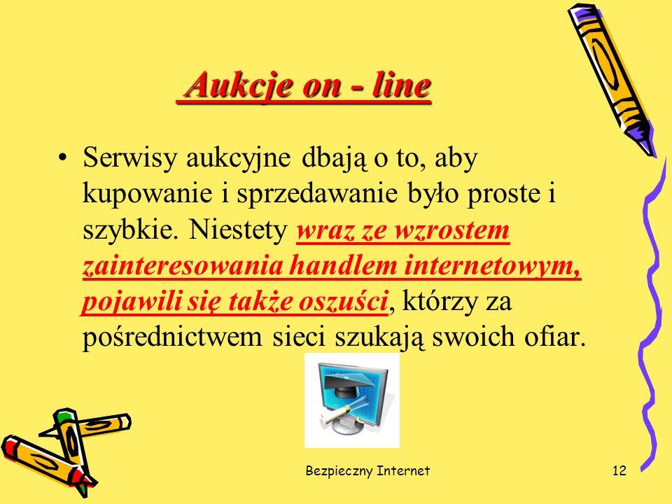 Aukcje on - line