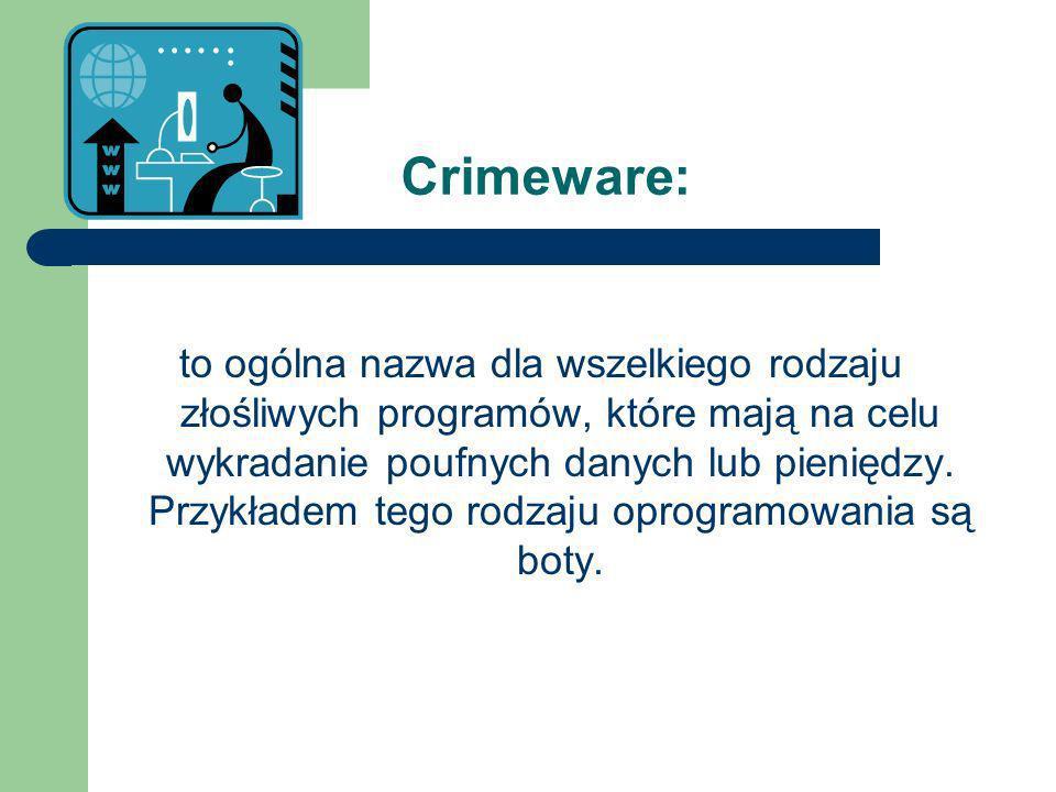 Crimeware: