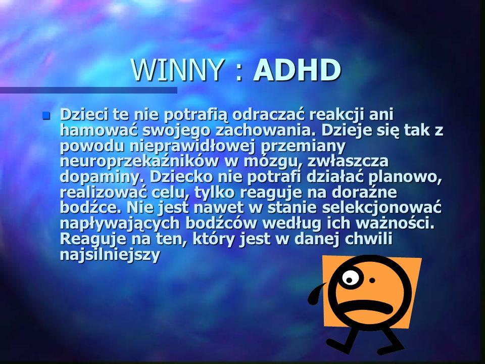 WINNY : ADHD