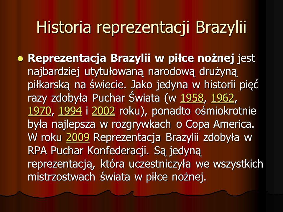 Historia reprezentacji Brazylii