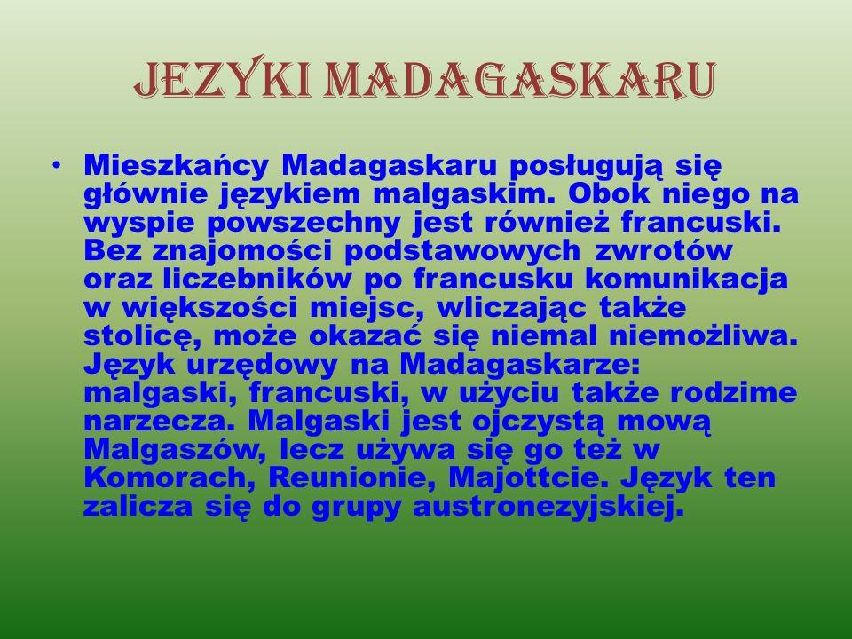 Jezyki madagaskaru