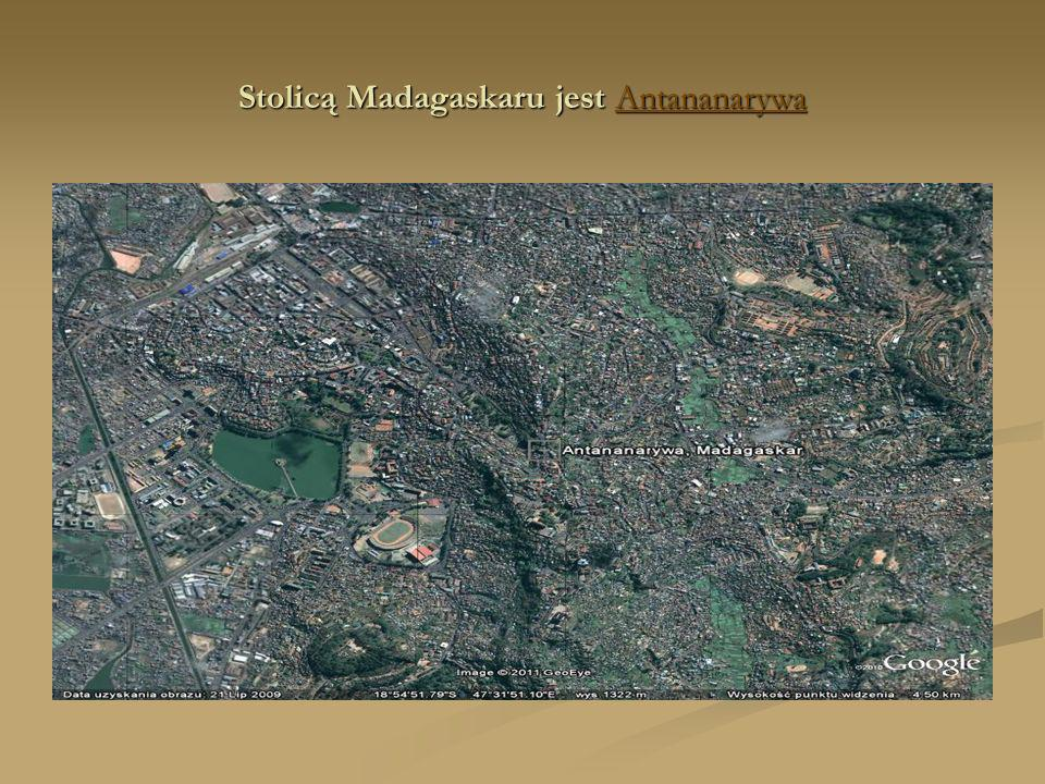 Stolicą Madagaskaru jest Antananarywa