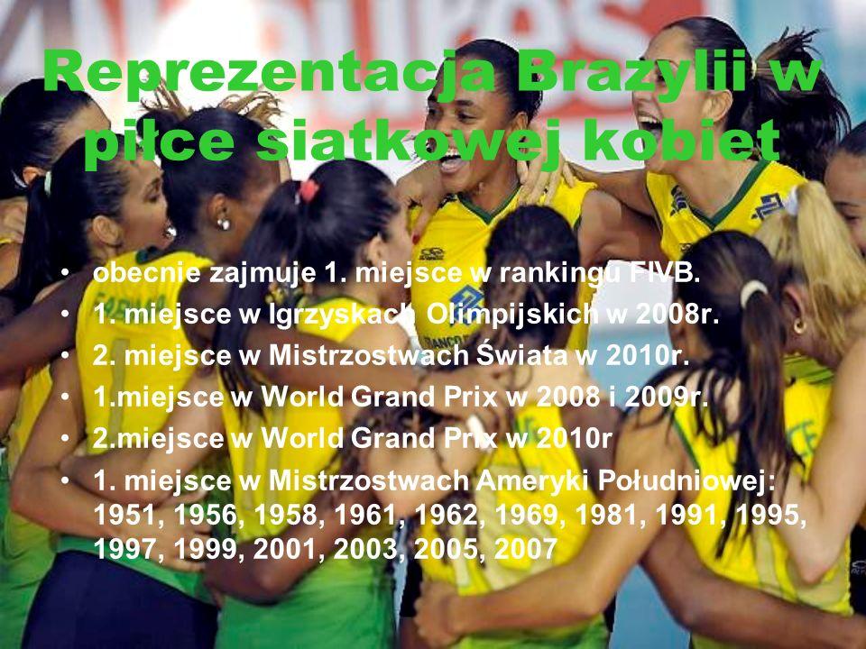 Reprezentacja Brazylii w piłce siatkowej kobiet