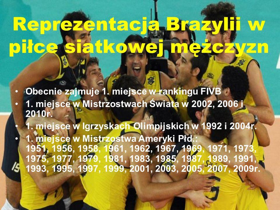 Reprezentacja Brazylii w piłce siatkowej mężczyzn