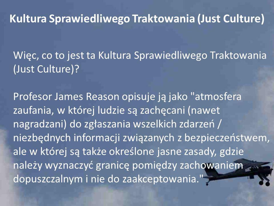 Kultura Sprawiedliwego Traktowania (Just Culture)