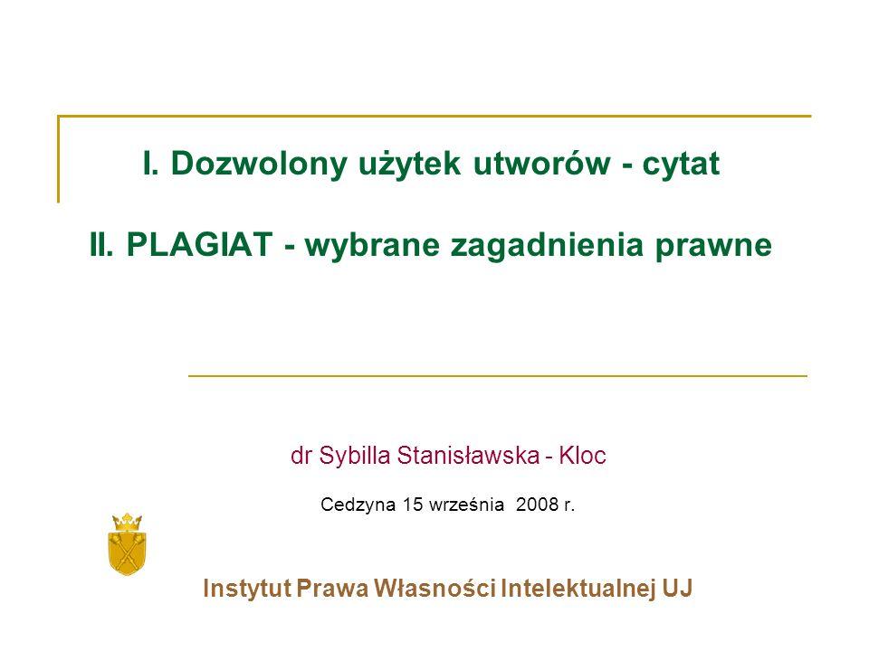 Instytut Prawa Własności Intelektualnej UJ