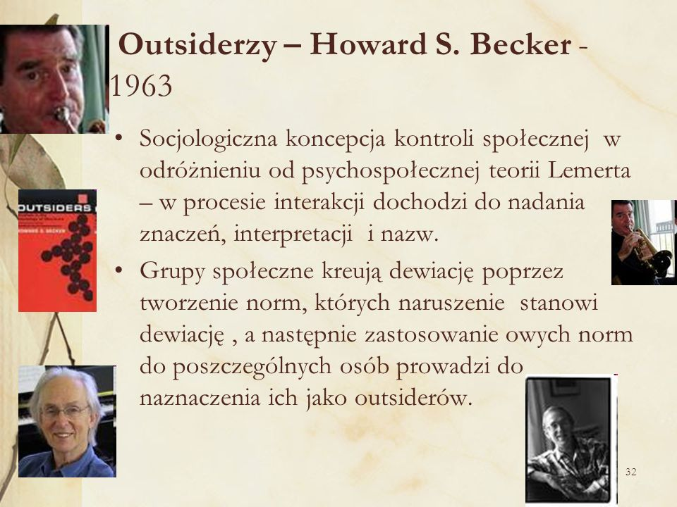 Outsiderzy – Howard S. Becker - 1963