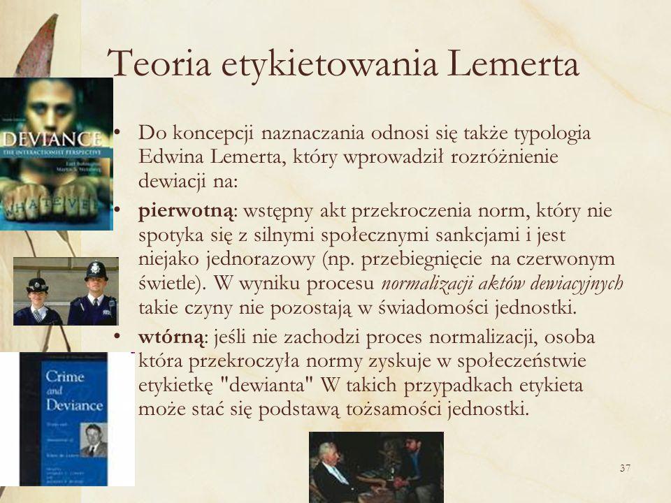 Teoria etykietowania Lemerta
