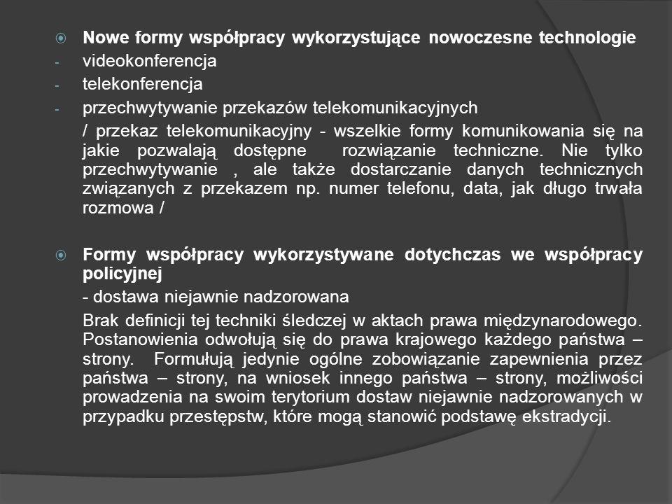 Nowe formy współpracy wykorzystujące nowoczesne technologie