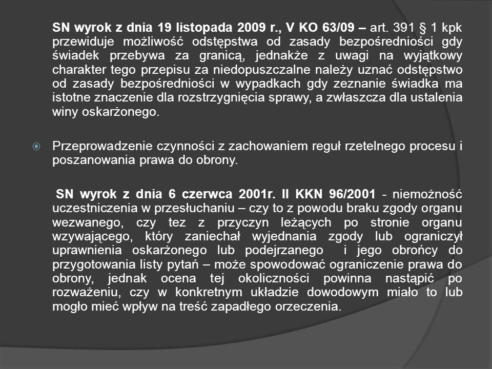 SN wyrok z dnia 19 listopada 2009 r. , V KO 63/09 – art