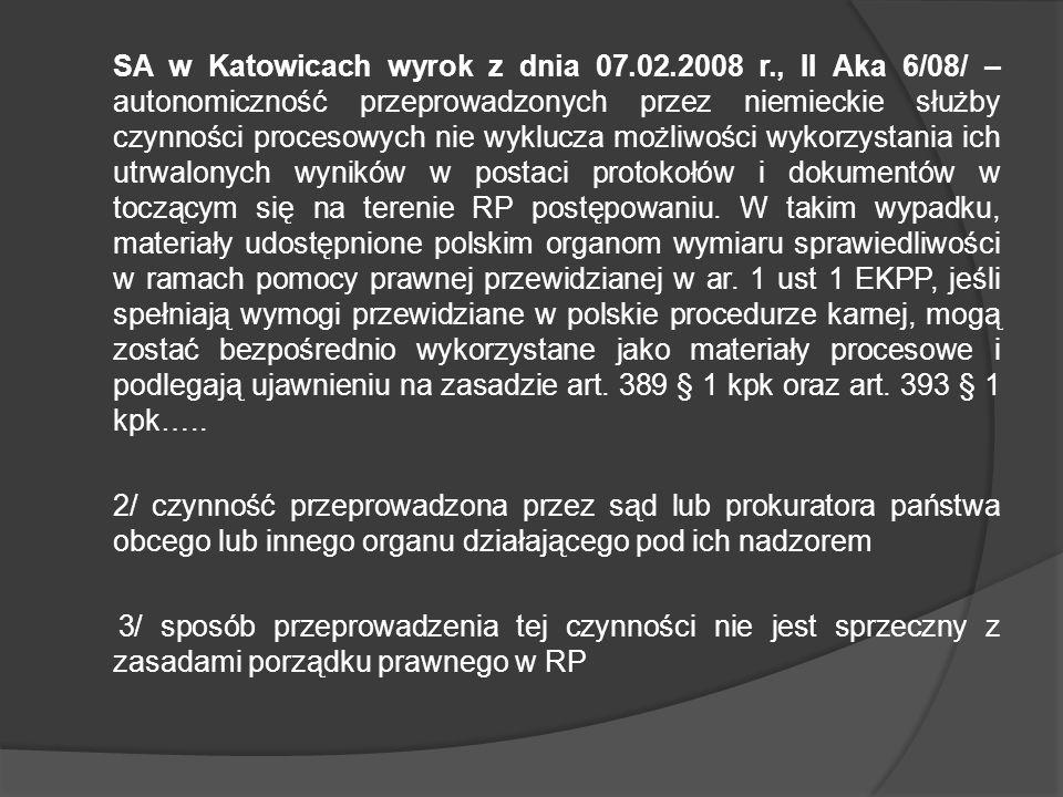 SA w Katowicach wyrok z dnia 07. 02. 2008 r