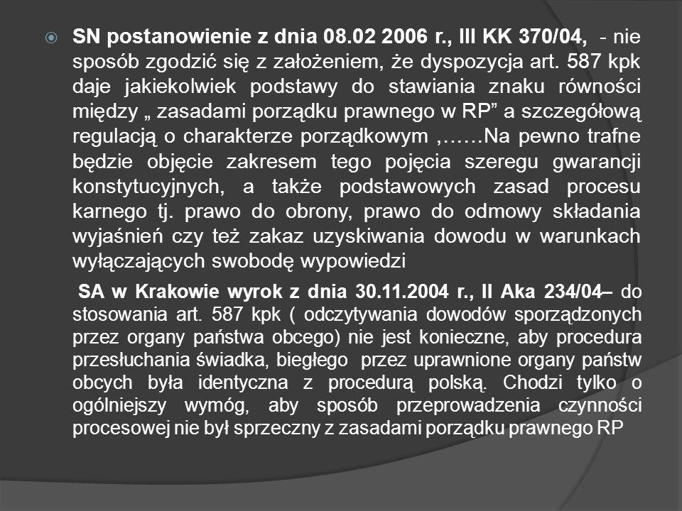 SN postanowienie z dnia 08. 02 2006 r