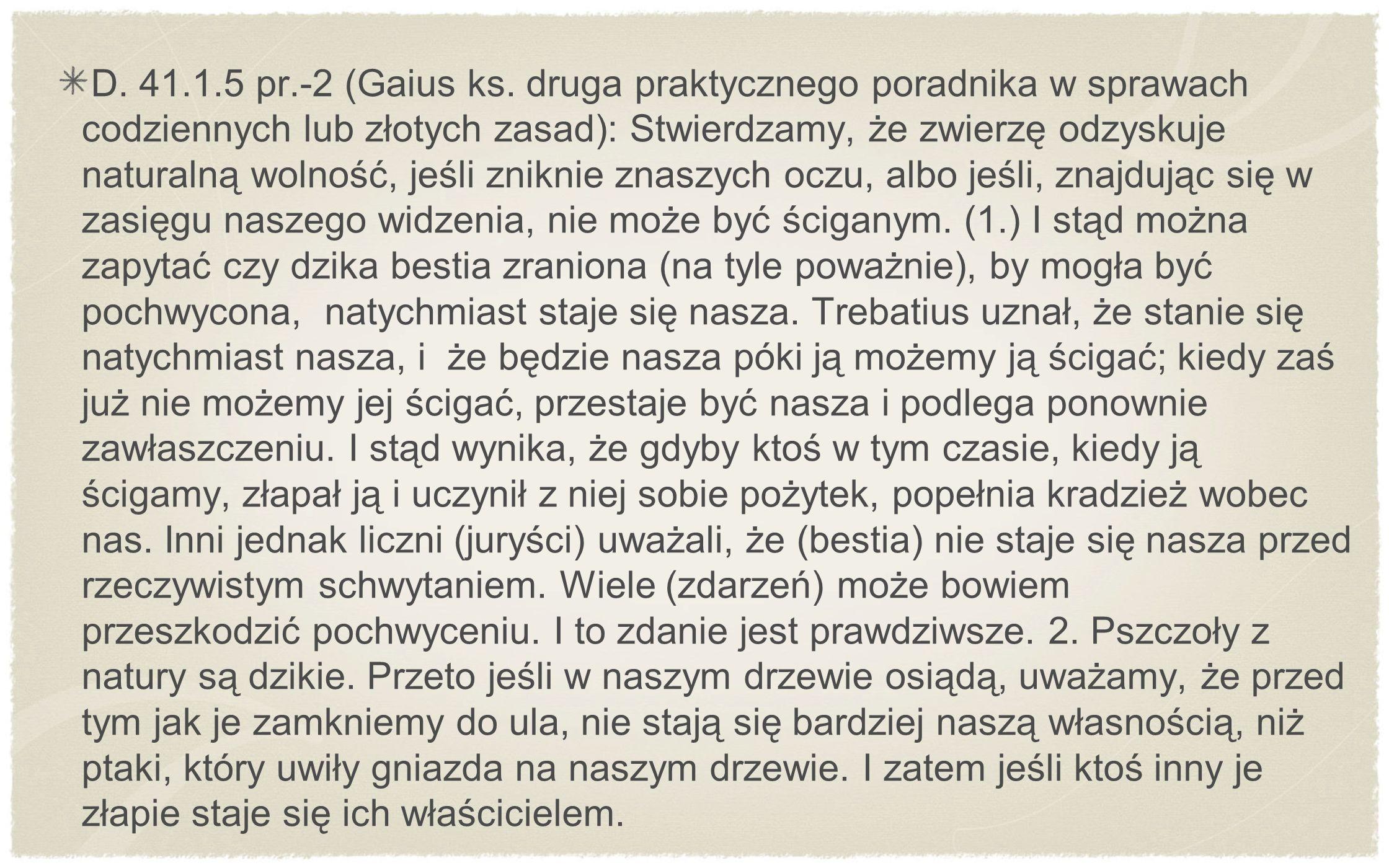 D. 41.1.5 pr.-2 (Gaius ks.