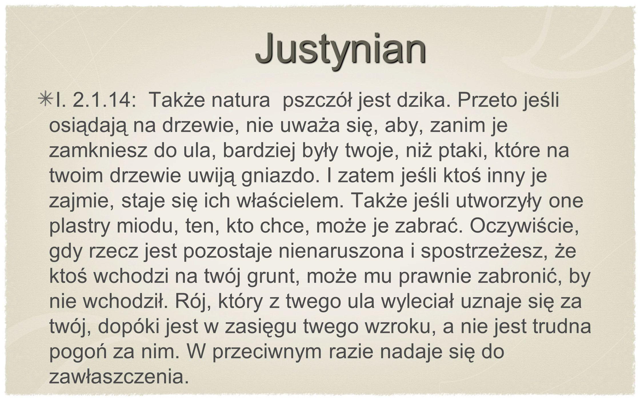 Justynian