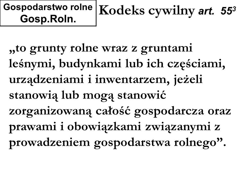 Gospodarstwo rolne Gosp.Roln.