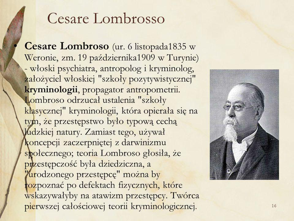 Cesare Lombrosso