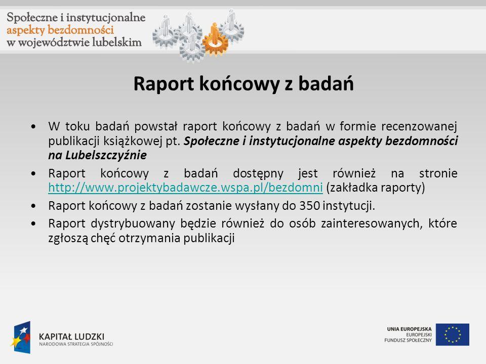 Raport końcowy z badań