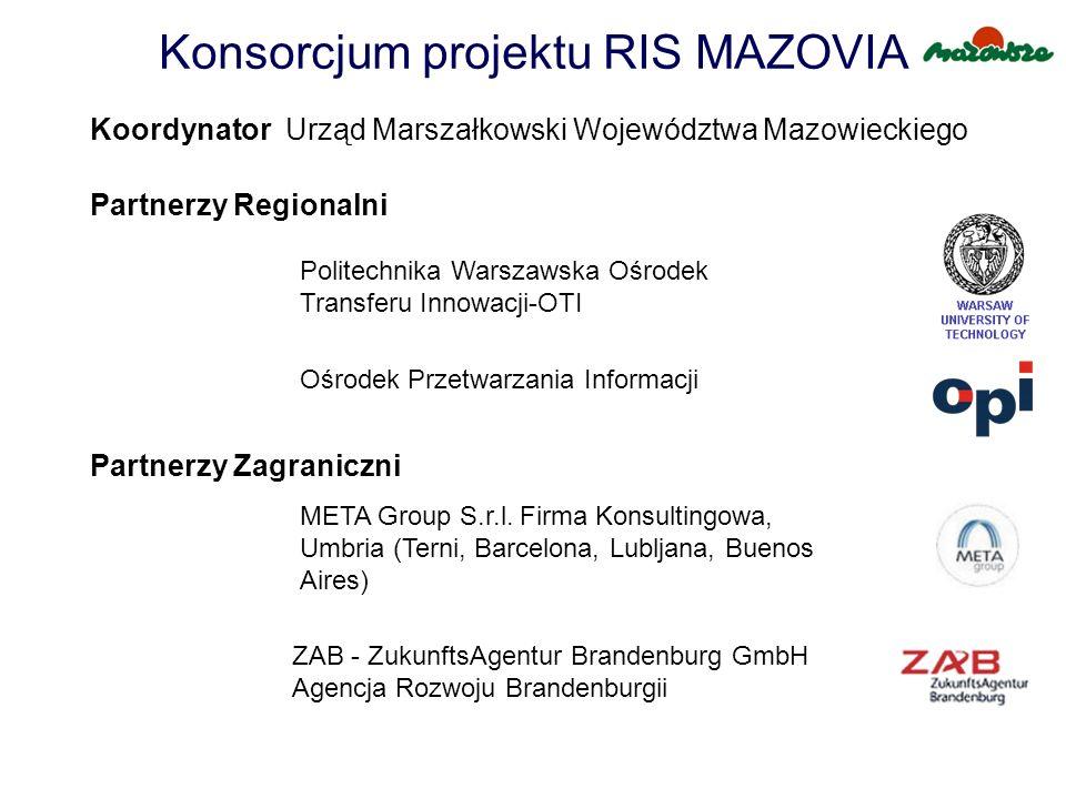 Konsorcjum projektu RIS MAZOVIA