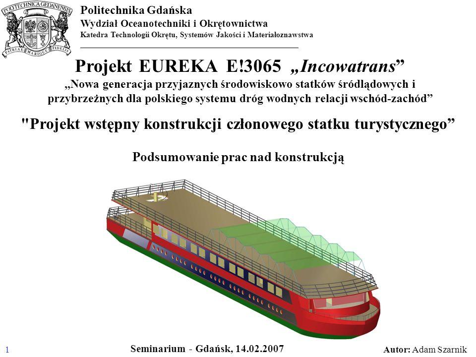 "Projekt EUREKA E!3065 ""Incowatrans"