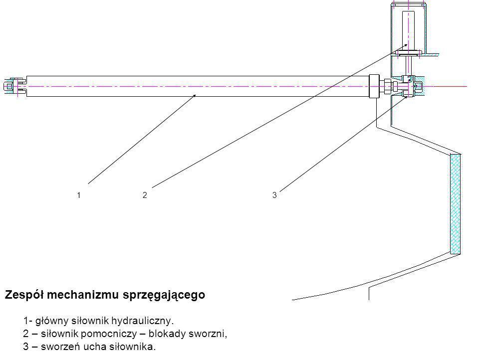 Zespół mechanizmu sprzęgającego