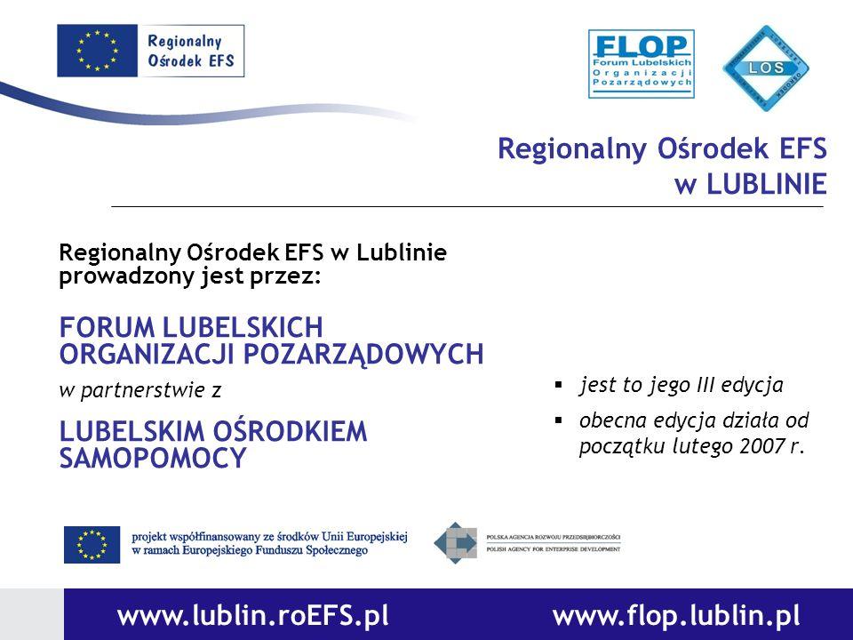 Regionalny Ośrodek EFS w LUBLINIE