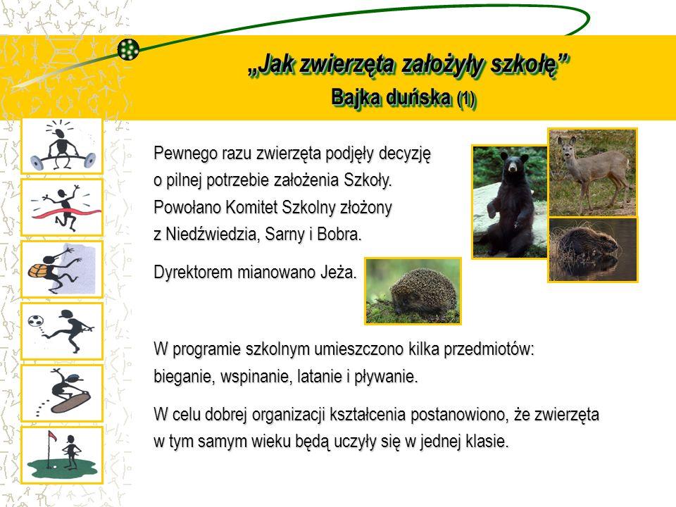 """""""Jak zwierzęta założyły szkołę Bajka duńska (1)"""