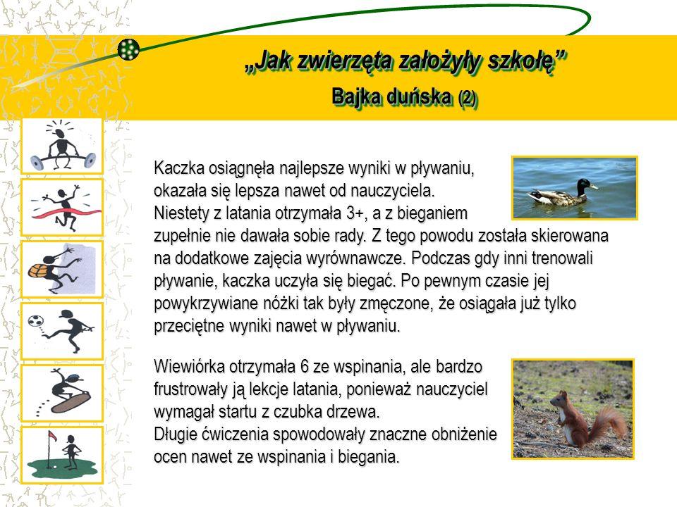 """""""Jak zwierzęta założyły szkołę Bajka duńska (2)"""