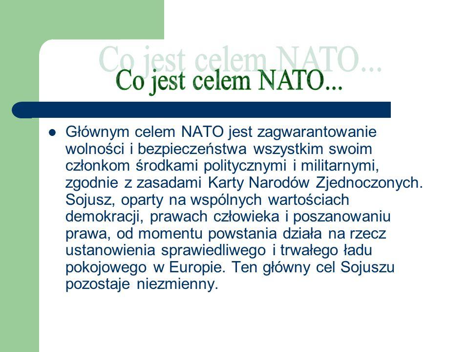 Co jest celem NATO...