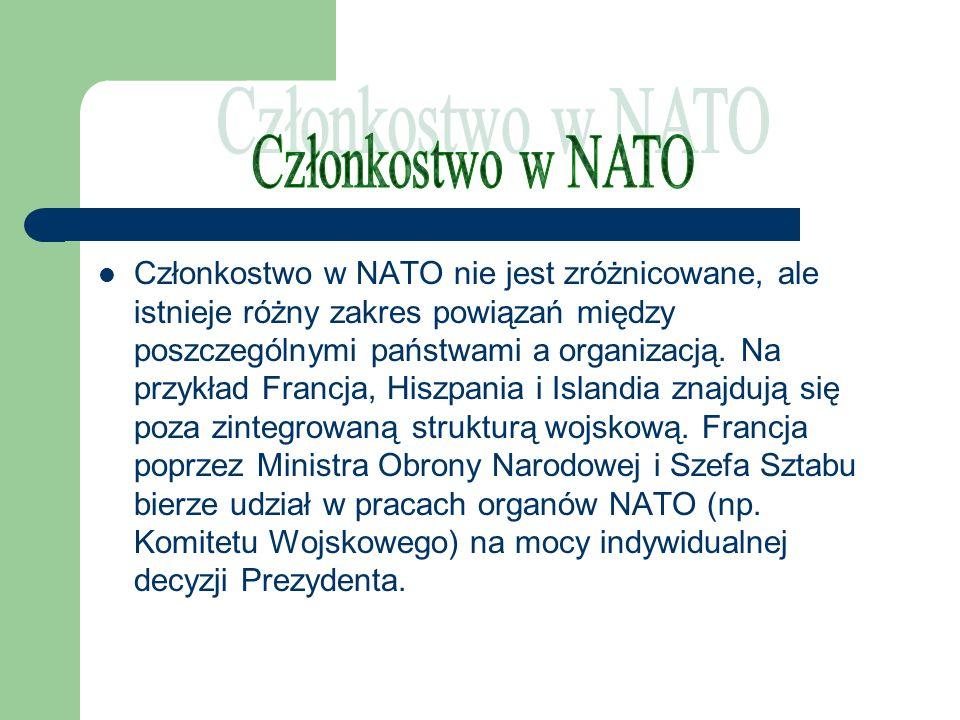 Członkostwo w NATO